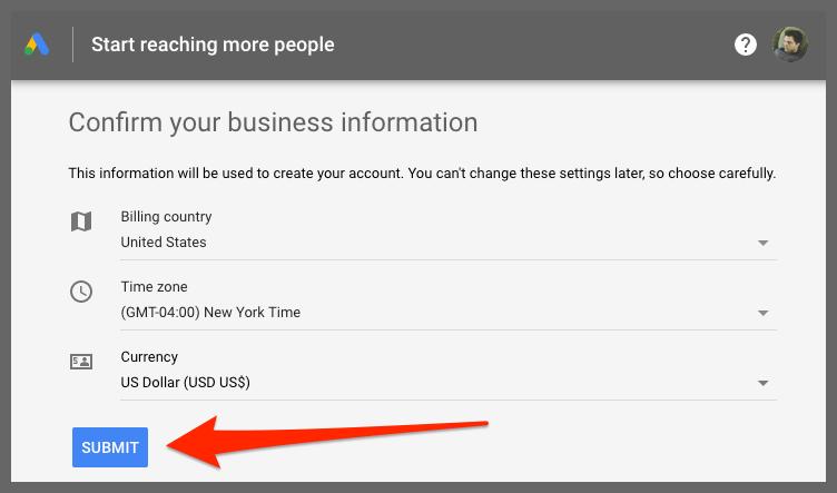 Start reaching more people (Google Ads)
