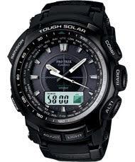 Casio Pro Trek analog-digital solar powered wrist watch